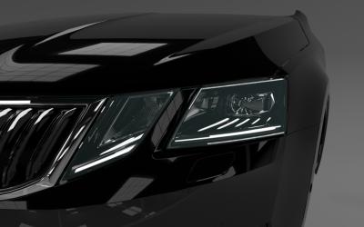 První FULL LED světlomet Škoda Octavia