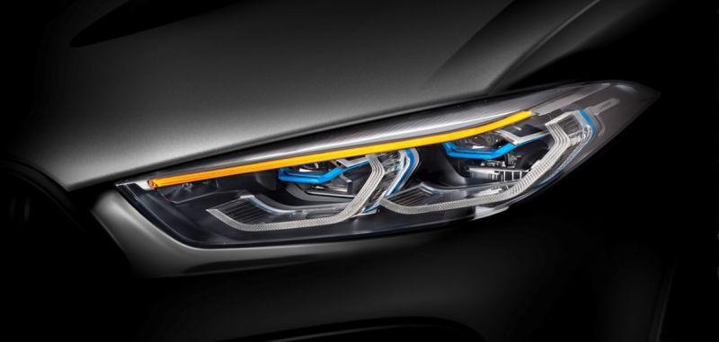BMW 8 světlo